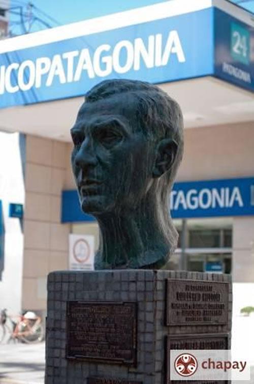 Busto en homenaje a Guillermo Hillcoat