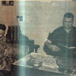 Guillermo Hillcoat junto a su esposa