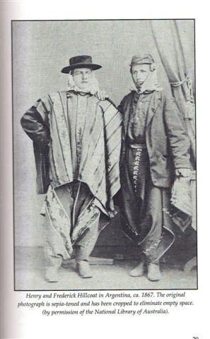 Frederick (derecha) junto a su hermano Henry