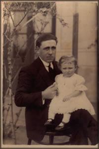 Junto a Antonia Hija del primer matrimonio