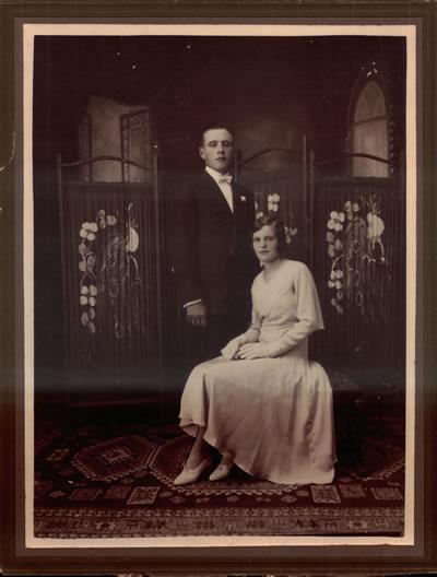 Francisco Hillcoat junto a Ema su esposa